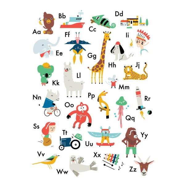 ABC Poster Affe