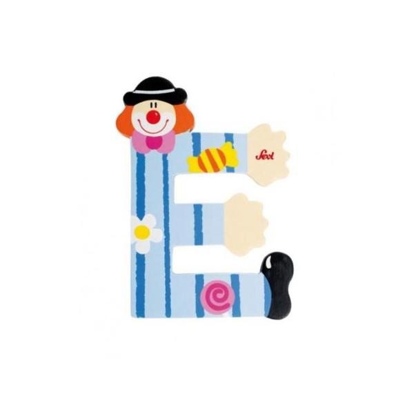 Buchstabe Clown E