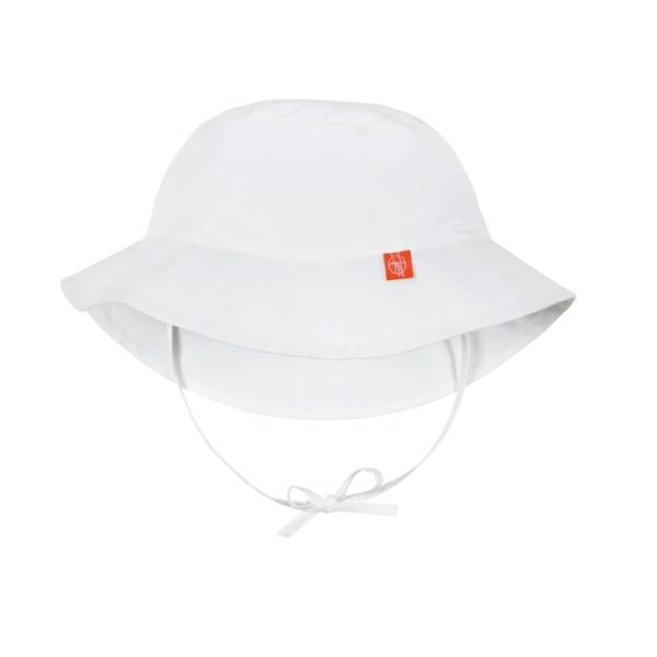 Sun Protection Bucket Hat girls, 6-18 Monate, white