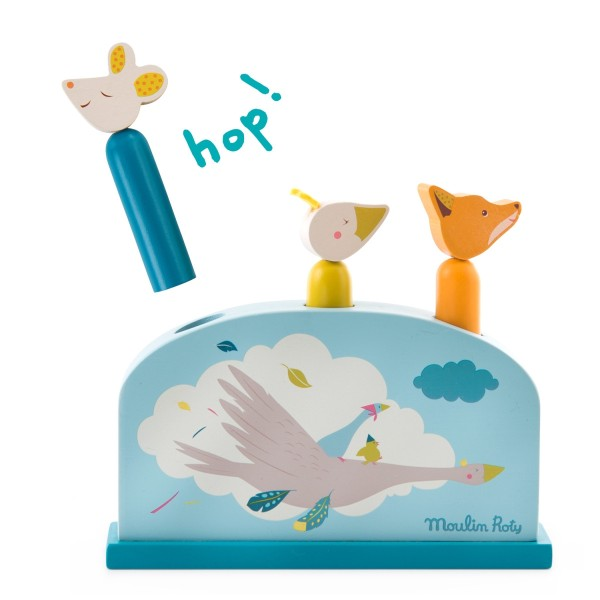 Pop-up Spielzeug Le Voyage d''Olga
