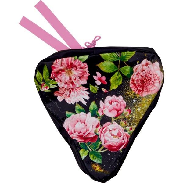 Sattelschutz Blumen
