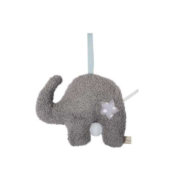 Spieluhr Frottee Elefant
