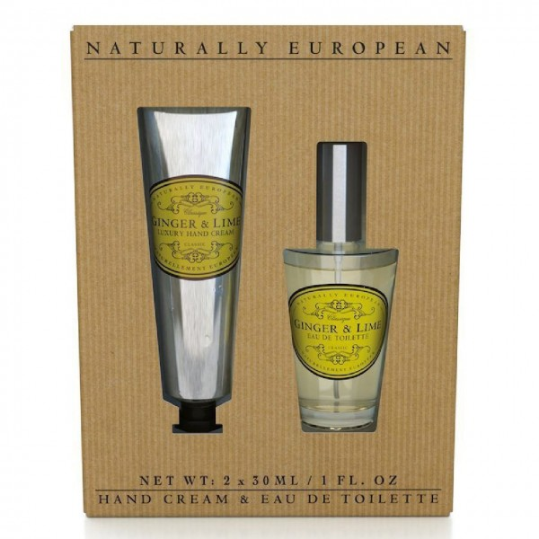 Natural European Pflege-Set Ginger & Lime