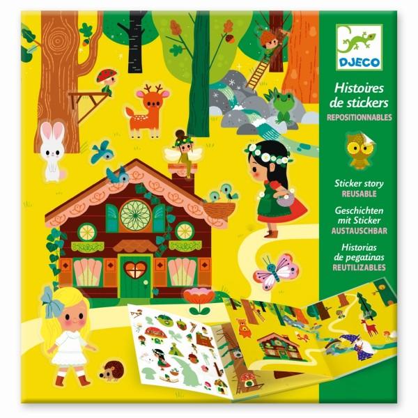 Geschichten mit Sticker: Zauberwald