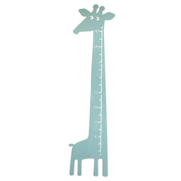 Messlatte Giraffe blau
