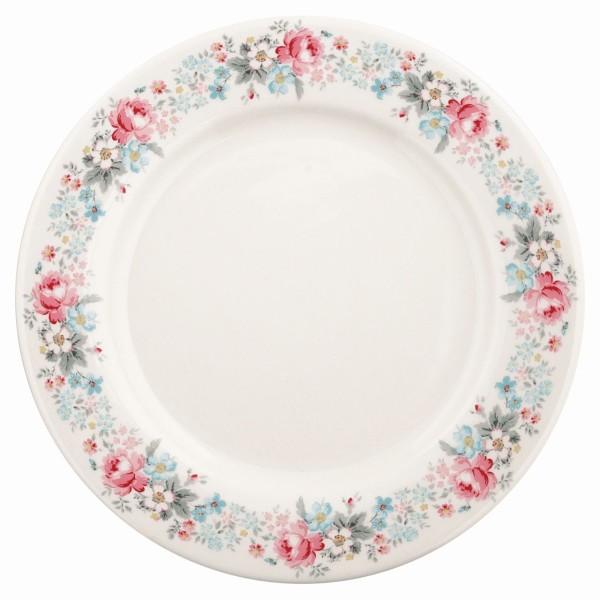 Dinner Teller Marie pale grey