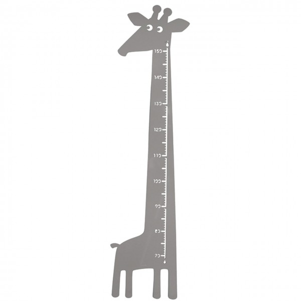 Messlatte Giraffe grau