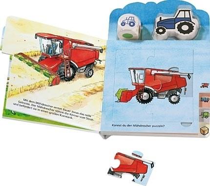 Puzzlebuch Bauer Jonas und seine Fahrzeuge