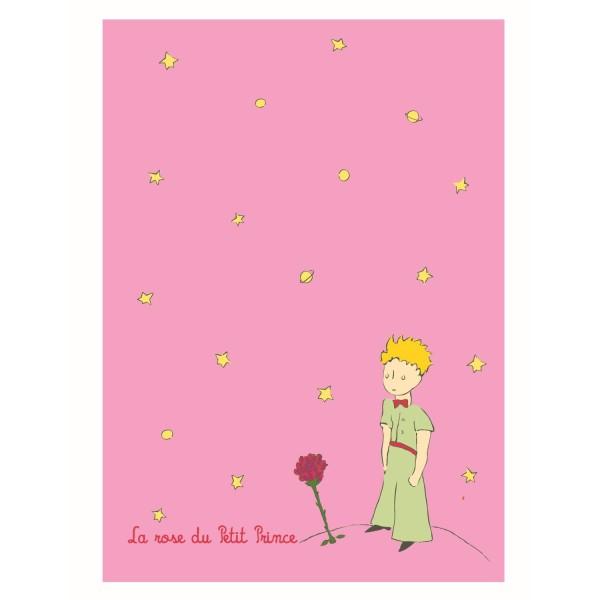 Grosses Notiz - Heft rosa Der kleine Prinz