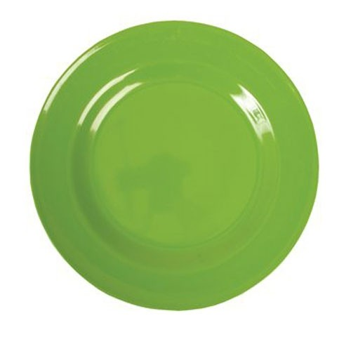 Melamin Teller - satt Grün L