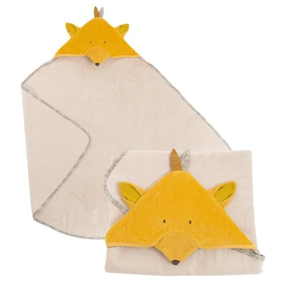 Kapuzenbadetuch Fuchs