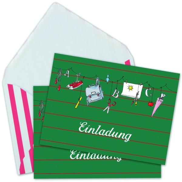 Einladungskarten Einschulung