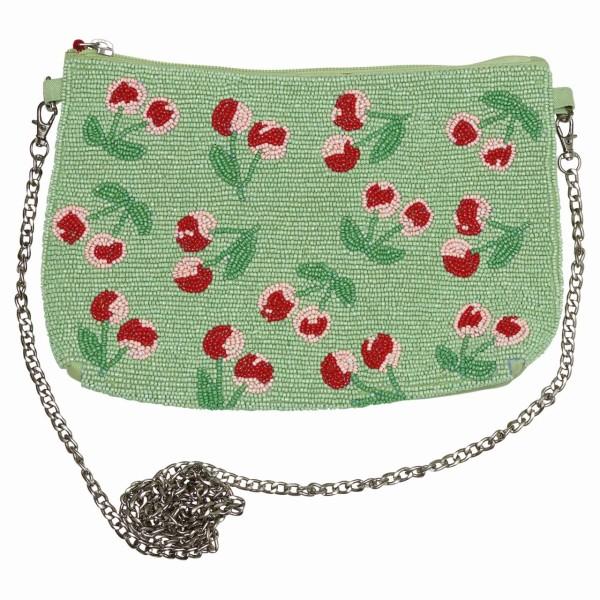 Handtasche Cherry Berry pale green