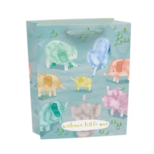 Geschenktüte Baby Elephants klein