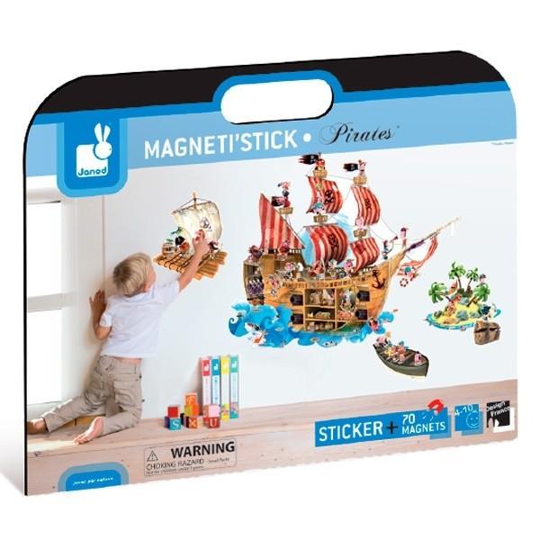 Magnetsticker Piraten
