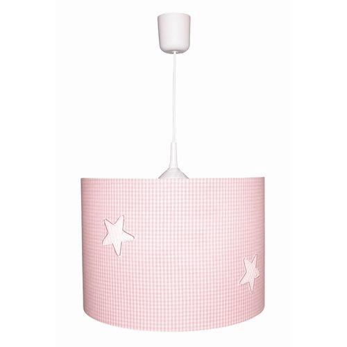 Kinderlampe Sterne rosa