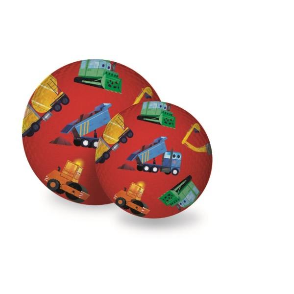 Spielball Baufahrzeuge 18 cm