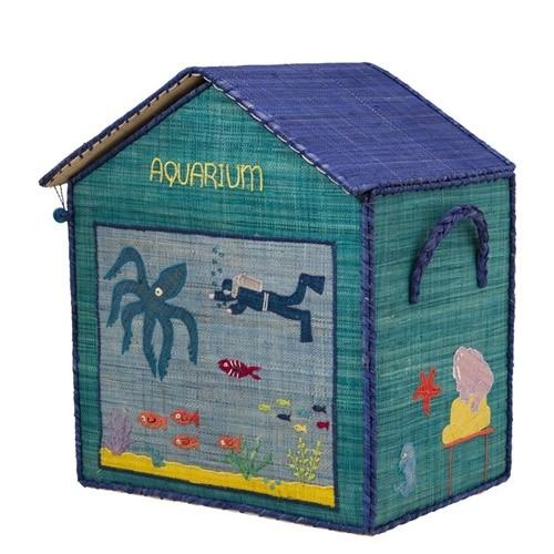 Landhauskorb Aquarium